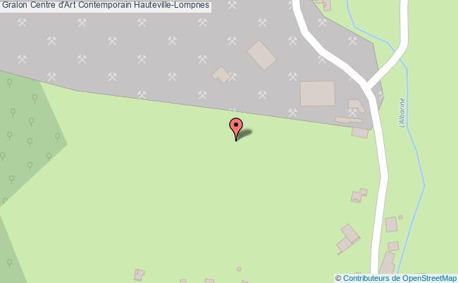 plan association Centre D'art Contemporain Hauteville-lompnes Hauteville-Lompnes
