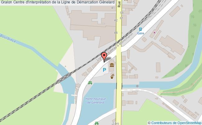 plan Centre D'interprétation De La Ligne De Démarcation Génelard