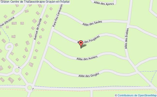 plan association Centre De Thalassotérapie Grayan-et-l'hôpital Grayan-et-l'hôpital