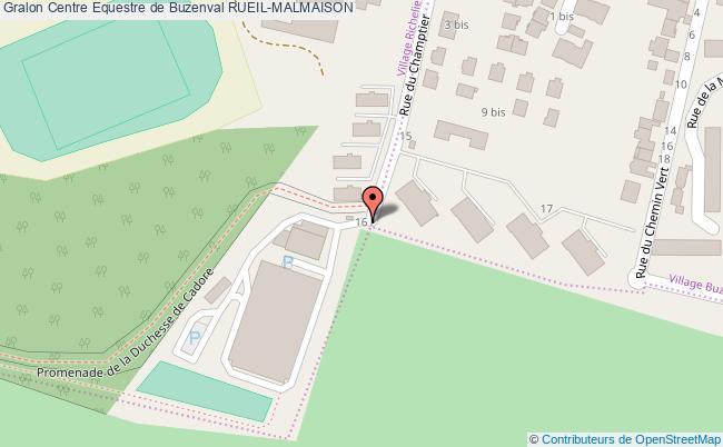 plan association Centre Equestre De Buzenval Rueil-malmaison RUEIL-MALMAISON