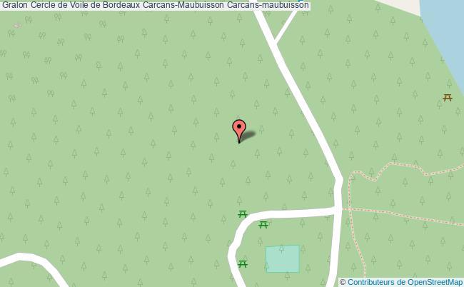 plan association Cercle De Voile De Bordeaux Carcans-maubuisson Carcans-maubuisson Carcans-maubuisson