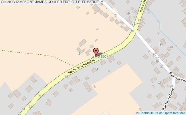 plan Champagne James Kohler Trelou-sur-marne