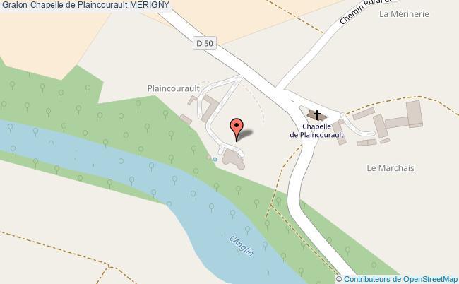 plan Chapelle De Plaincourault Merigny