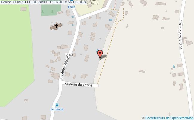 plan Chapelle De Saint Pierre Martigues