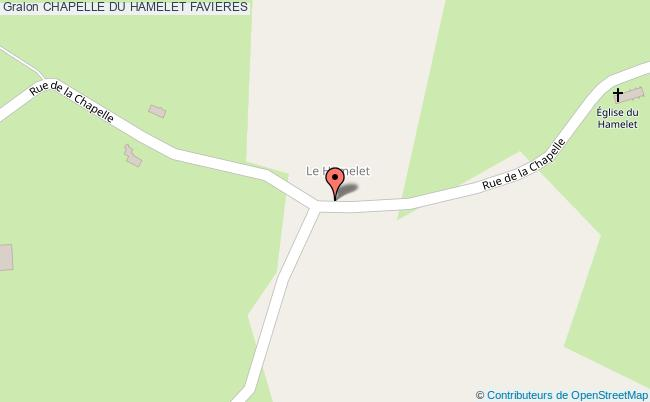 plan association Chapelle Du Hamelet Favieres FAVIERES
