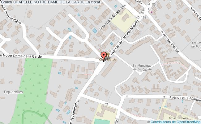 plan Chapelle Notre Dame De La Garde La Ciotat