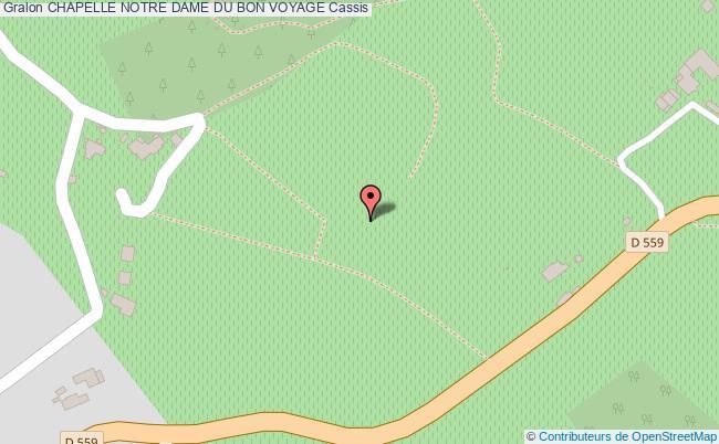 plan association Chapelle Notre Dame Du Bon Voyage Cassis Cassis