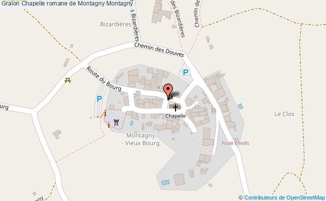 plan association Chapelle Romane De Montagny Montagny Montagny