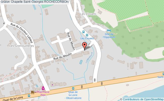 plan Chapelle Saint-georges Rochecorbon