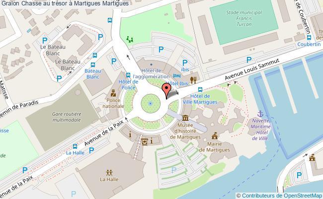 plan Chasse Au Trésor à Martigues Martigues