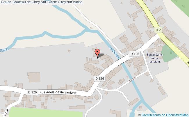 plan Chateau De Cirey Sur Blaise Cirey-sur-blaise