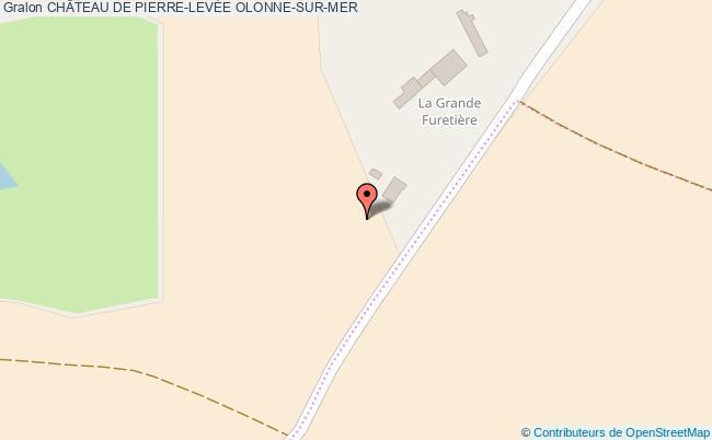 plan association ChÂteau De Pierre-levÉe Olonne-sur-mer OLONNE-SUR-MER