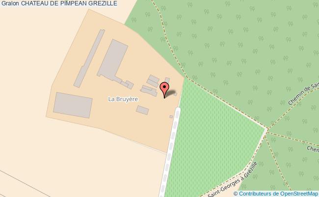 plan association Chateau De Pimpean Grezille GREZILLE