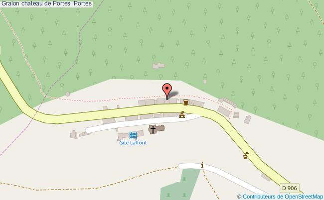 plan Chateau De Portes  Portes