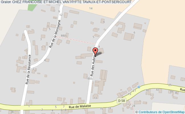 plan Chez Francoise Et Michel Van Hyfte Tavaux-et-pontsericourt