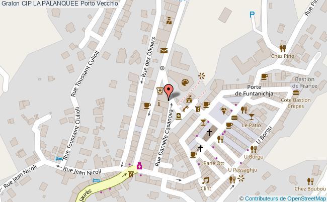 plan Cip La Palanquee Porto Vecchio