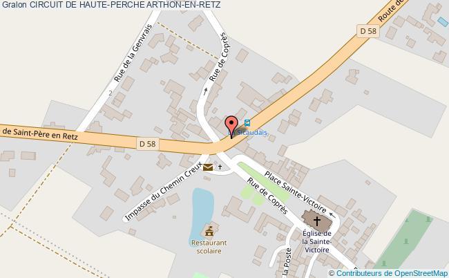 plan association Circuit De Haute-perche Arthon-en-retz ARTHON-EN-RETZ