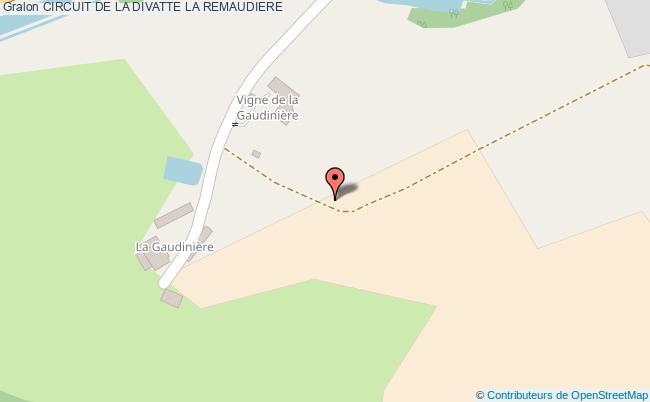 plan Circuit De La Divatte La Remaudiere