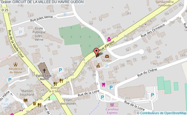plan Circuit De La Vallee Du Havre Oudon