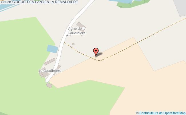 plan Circuit Des Landes La Remaudiere