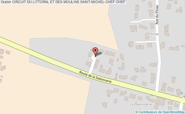 plan Circuit Du Littoral Et Des Moulins Saint-michel-chef-chef