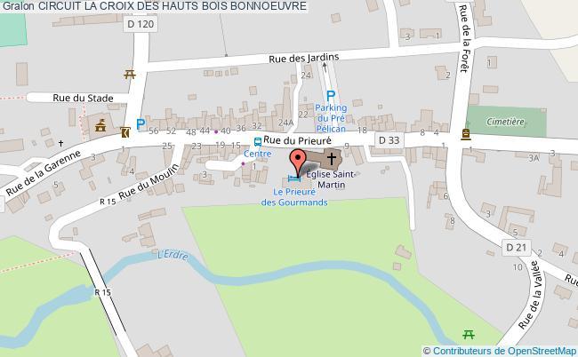 plan Circuit La Croix Des Hauts Bois Bonnoeuvre