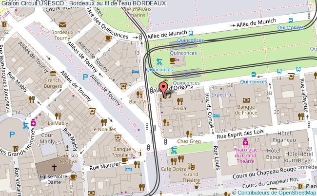 Carte Bordeaux Unesco.Circuit Unesco Bordeaux Au Fil De L Eau Bordeaux Tourisme