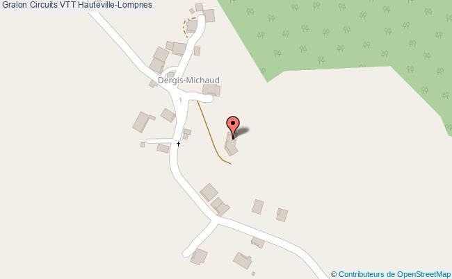 plan Circuits Vtt Hauteville-lompnes