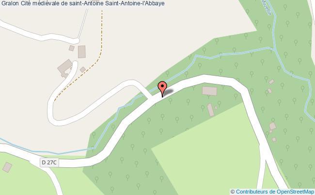 Cit m di vale de saint antoine saint antoine l 39 abbaye tourisme - Office de tourisme saint antoine l abbaye ...