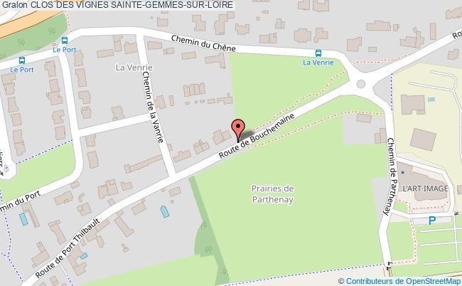 plan association Clos Des Vignes Sainte-gemmes-sur-loire SAINTE-GEMMES-SUR-LOIRE