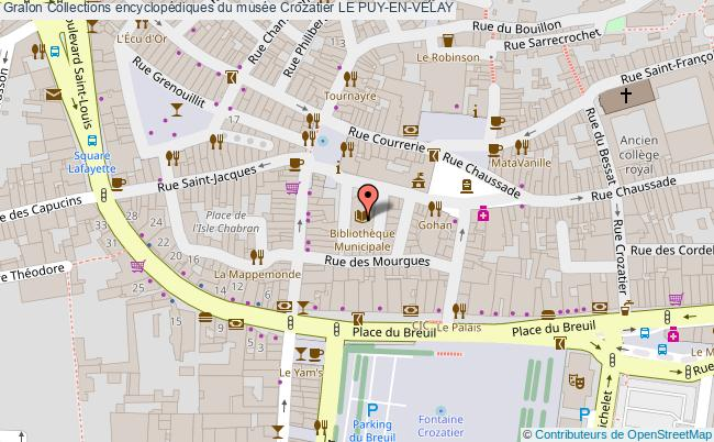 plan Collections Encyclopédiques Du Musée Crozatier Le Puy-en-velay