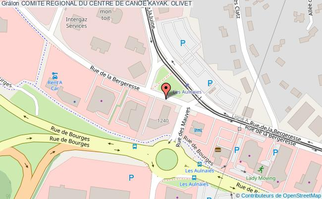 plan Comite Regional Du Centre De Canoe Kayak. Olivet