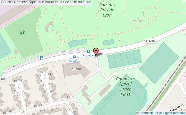 plan Complexe Aquatique Aqualuc La Chapelle-saint-luc