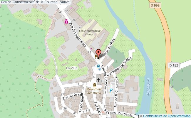 plan Conservatoire De La Fourche  Sauve