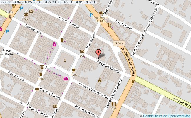 plan Conservatoire Des Metiers Du Bois Revel