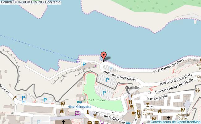 plan Corsica Diving Bonifacio