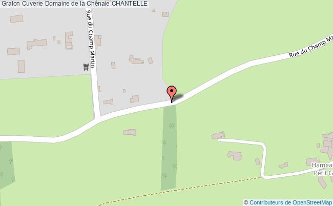 plan Cuverie Domaine De La Chênaie Chantelle