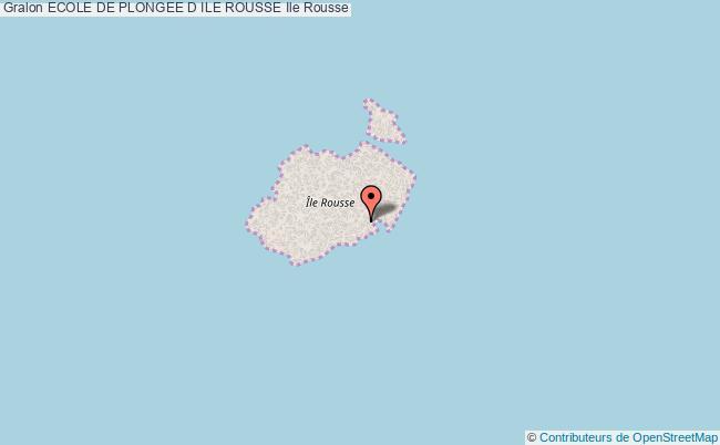 plan association Ecole De Plongee D Ile Rousse Ile Rousse Ile Rousse