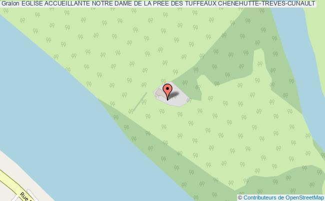 plan Eglise Accueillante Notre Dame De La Pree Des Tuffeaux Chenehutte-treves-cunault