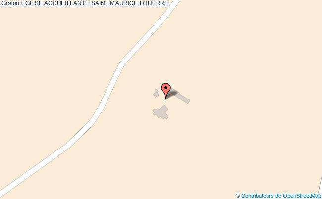 plan Eglise Accueillante Saint Maurice Louerre