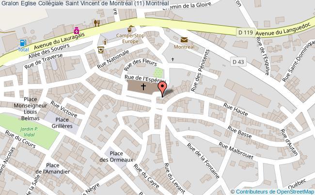 plan Eglise Collégiale Saint Vincent De Montréal (11) Montréal
