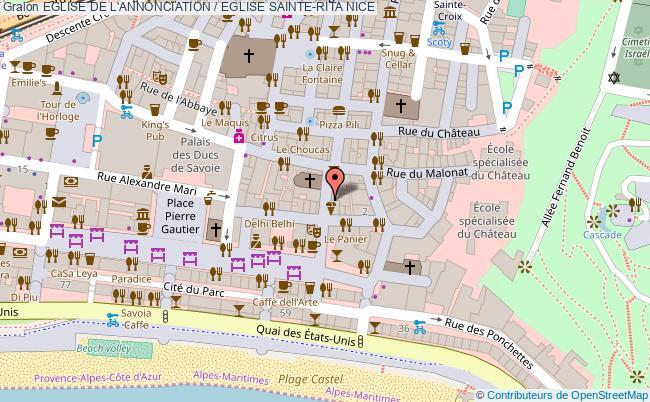 plan Eglise De L'annonciation / Eglise Sainte-rita Nice
