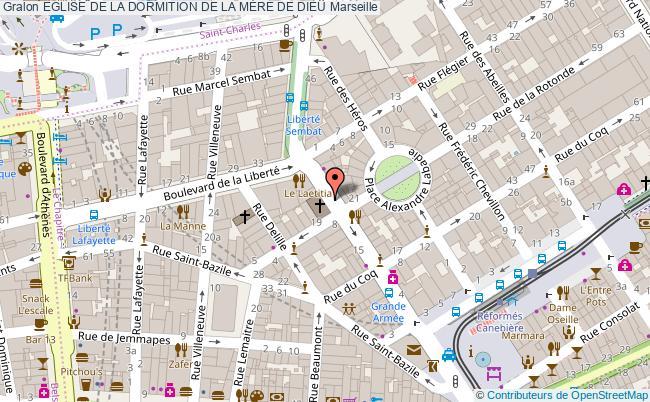 plan Eglise De La Dormition De La MÈre De Dieu Marseille
