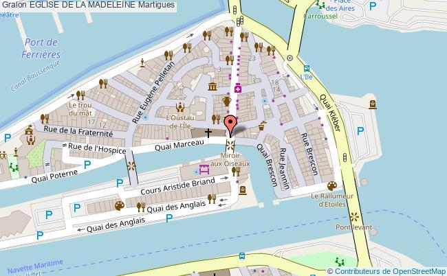 plan Eglise De La Madeleine Martigues