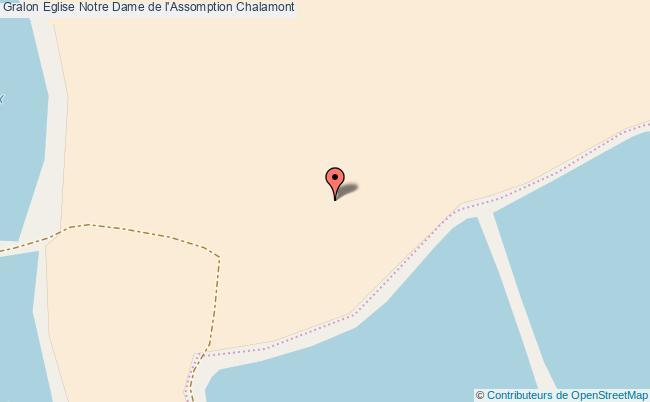 plan Eglise Notre Dame De L'assomption Chalamont