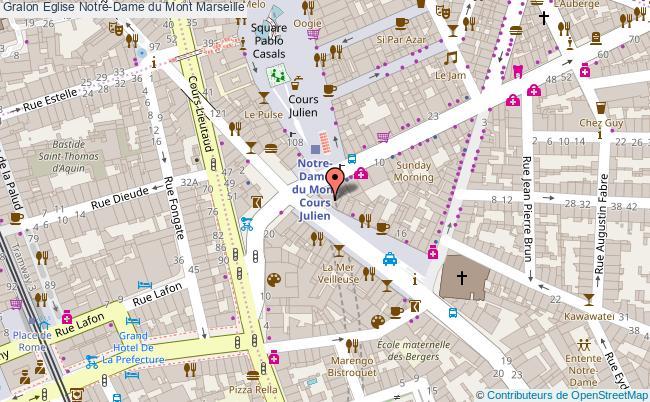 plan Eglise Notre-dame Du Mont Marseille