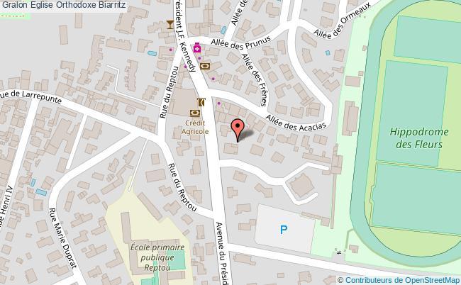 plan Eglise Orthodoxe Biarritz