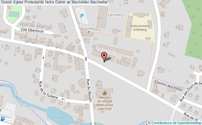 plan Eglise Protestante Notre Dame De Bischwiller Bischwiller