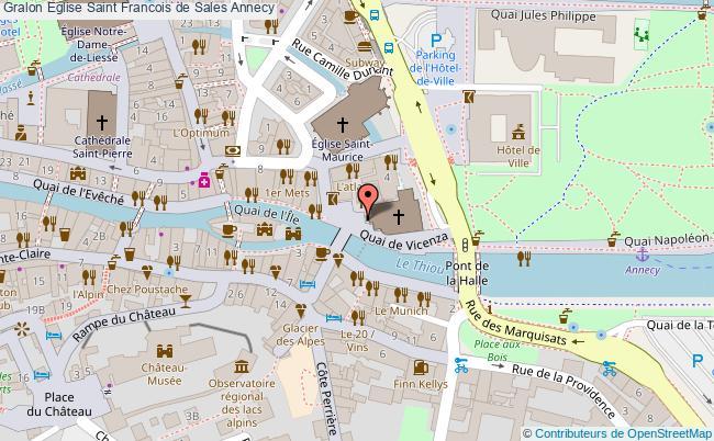 plan Eglise Saint Francois De Sales Annecy