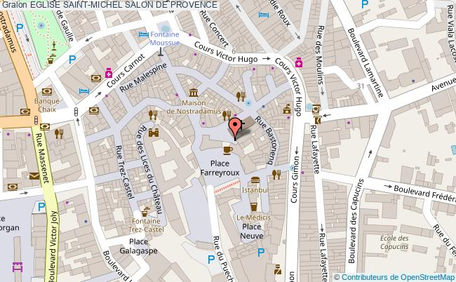 plan association Eglise Saint-michel Salon De Provence SALON DE PROVENCE